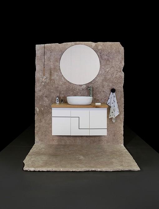 ארון אמבטיה סדרת אייל תקריב